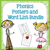 Phonics Posters and Word Lists Bundle