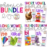Phonics and Word Family Posters with Photographs