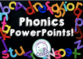 Phonics PowerPoints Bundle! Great for Distance Learning!