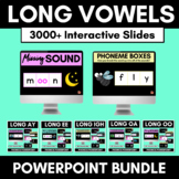 Phonics Powerpoint Pack: Long Vowels & Diphthongs