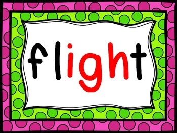 Phonics Powerpoint - Long i - /ie/ and /igh/