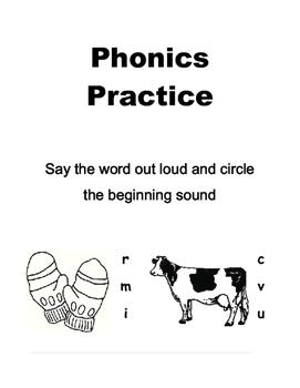 Phonics Practice