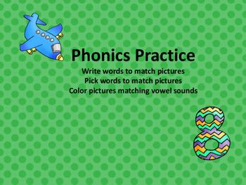 Decoding and Encoding Phonics Center