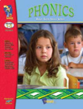 Phonics Practice: Build Their Skills Workbook Grades 1-3