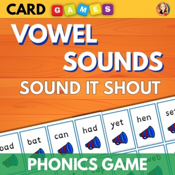 Phonics Practice Card Game - Sound it Shout with Long and