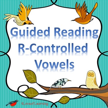 Reading Fluency R-Controlled Vowels Literacy Center