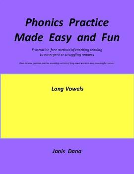 Phonics Practice:  Long Vowels