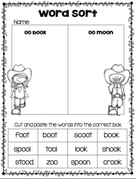 Phonics Practice...OO...It's and OO 'Round Up'!