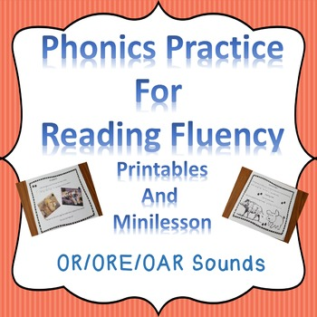 Reading Fluency Digraphs Literacy Center Short Stories and Activities