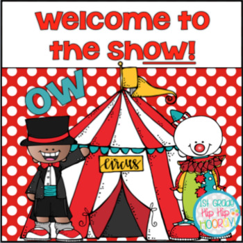 Phonics Practice...OW...Welcome to the Show!
