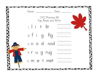 Phonics Practice Pack BUNDLE - CVC, digraphs, bonus letters, -am and -an