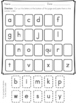 Phonics Practice Pack First Grade Unit 1 - Letter Formatio