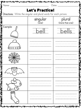 Phonics Practice Pack First Grade Unit 6 - Suffix -s