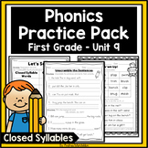 Level 1 Unit 9 Closed Syllables