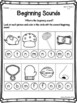 Kindergarten Phonics Practice Pack Unit 1