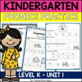 Kindergarten Phonics Unit 1