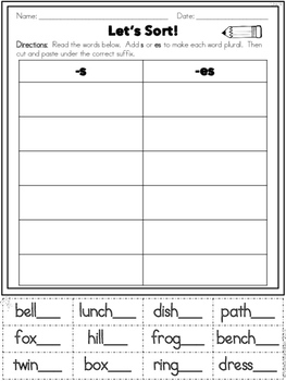 Phonics Practice Pack Unit 4 Second Grade - Suffixes