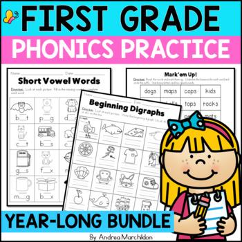 Level 1 Phonics Practice Bundle Units 1-14