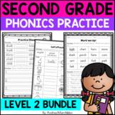Level 2 Phonics Practice Bundle Units 1 - 17