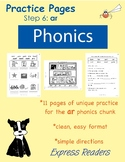 Phonics Practice Pages - Phonics Chunk: ar