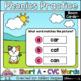 Phonics Practice Short Vowels CVC Words Boom Cards Bundle Digital Learning