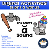 Phonics Practice: Short a Words (Distance Learning Digital