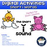 Phonics Practice: Short i Words (Distance Learning Digital