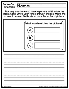 Phonics Practice Short o CVC Words - Boom Cards