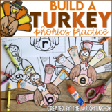 Thanksgiving Activities Phonics Practice