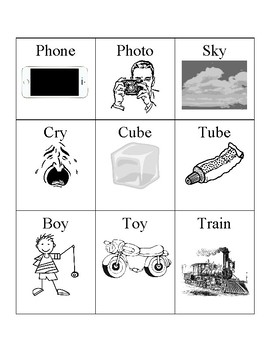 Phonics Practice Words With Pictures