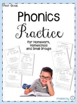 Phonics Practice for Homework, Homeschool and Small Groups