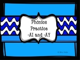 Phonics Practice with AI and AY