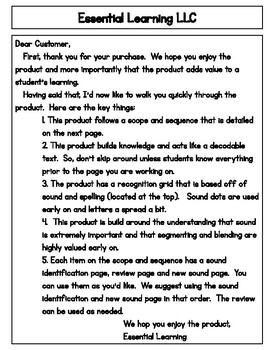 Phonics Pre-K Starter Kit (First 4 Letters of Alphabet)