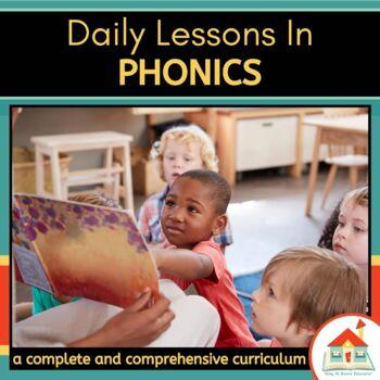 Phonics Preschool Lesson Plans