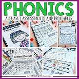 Phonics Printable Alphabet Assessments and Printables