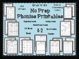 Phonics Printables