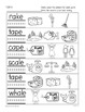 Phonics Printables- Long Vowel a_e Freebie!