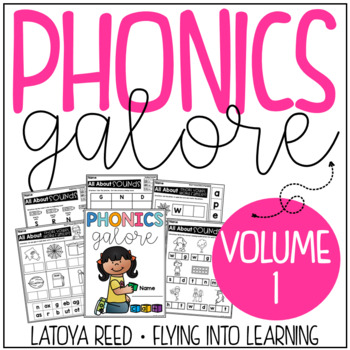 Phonics Printables No Prep