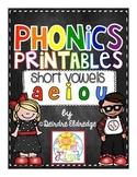 No Prep Short Vowels Practice