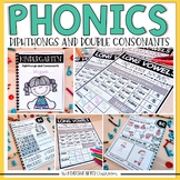 Phonics Printables and Assessments - Diphthongs and Double