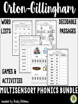 Phonics Activities and Printables Multisensory Approach Or