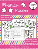 Phonics Puzzle CVC Short A
