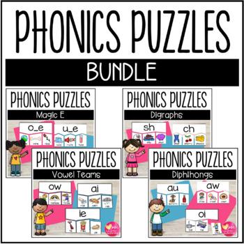 Phonics Puzzles {BUNDLE}
