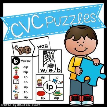 Phonics Puzzles:  CVC