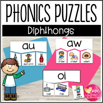 Phonics Puzzles! Diphthongs