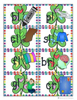Phonics Puzzles March: Color & blackline!