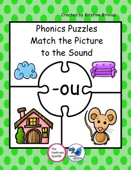 Phonics Puzzles Match the Picture to the Sound