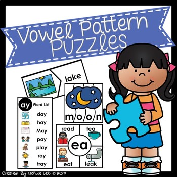 Phonics Puzzles:  Vowel Patterns