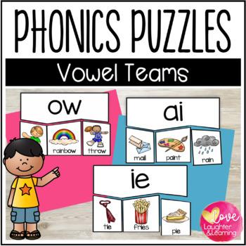 Phonics Puzzles! Vowel Teams