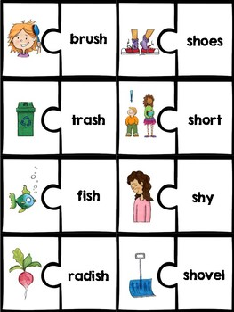 Phonics Puzzles: digraphs